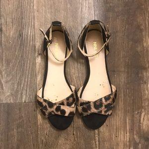 Nine West Leopard Print Sandals
